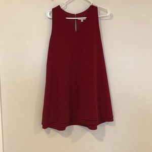 B.B. Dakota red swing dress